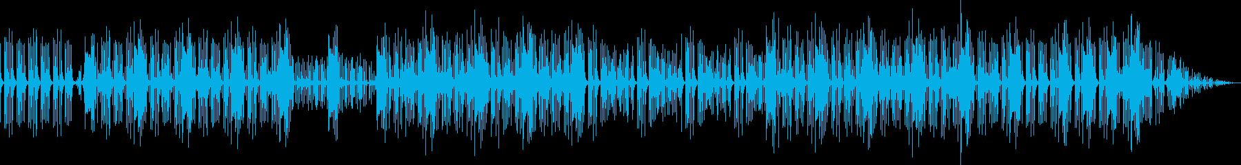 パーカッションループの再生済みの波形