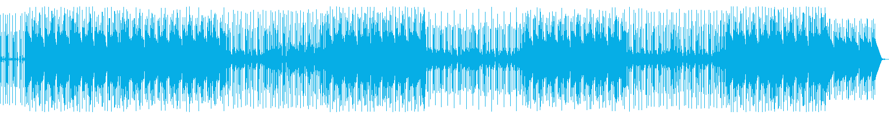 かわいいヒップホップの再生済みの波形