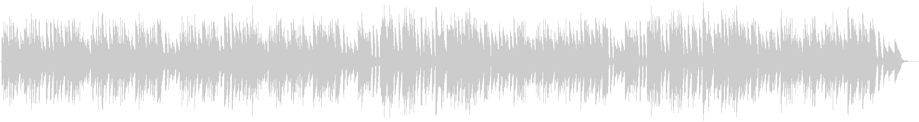 バッハ/メヌエット第2番をヴァイオリンでの未再生の波形