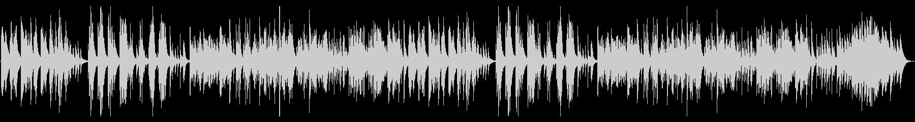 ゲーム・切ないピアノ曲の未再生の波形