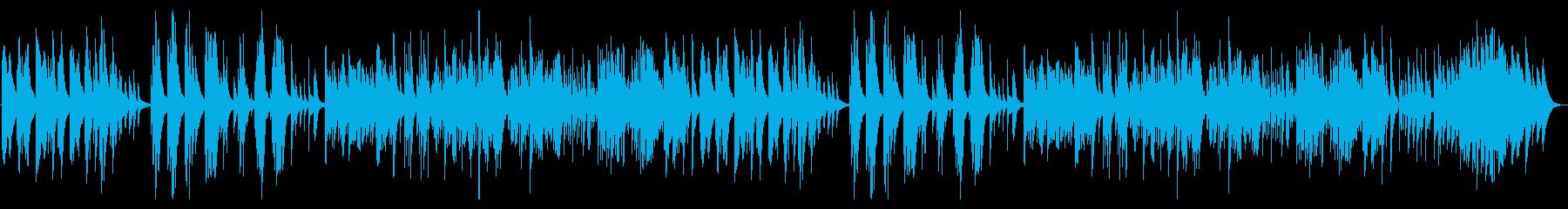 ゲーム・切ないピアノ曲の再生済みの波形
