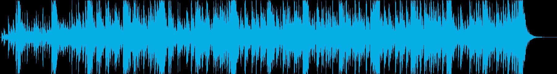仁王・金剛力士をイメージした和太鼓と尺八の再生済みの波形