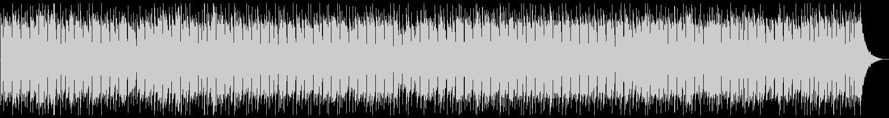 軽快なポップBGMの未再生の波形