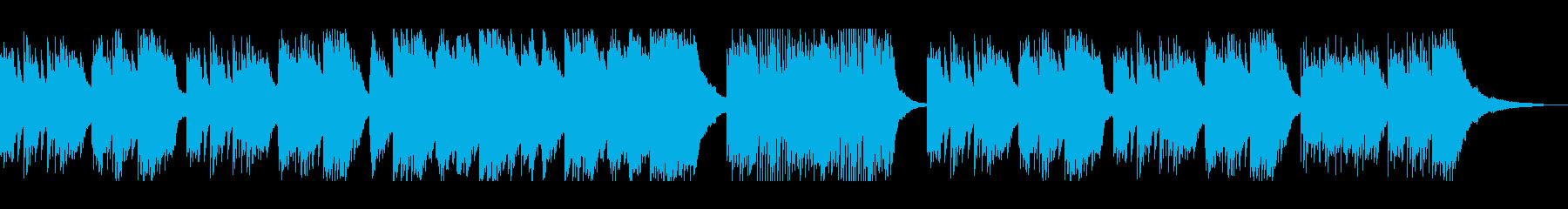 大人セクシーなメランコリックピアノソロの再生済みの波形