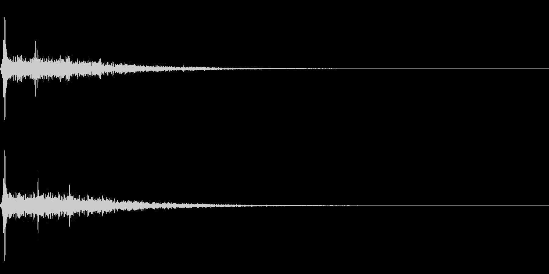 Dark_Attack-02の未再生の波形