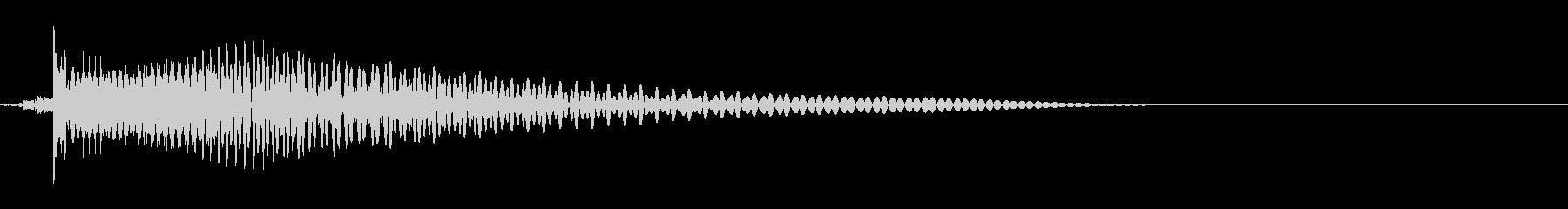 ベース/ドゥーン/ネックスライド/A09の未再生の波形