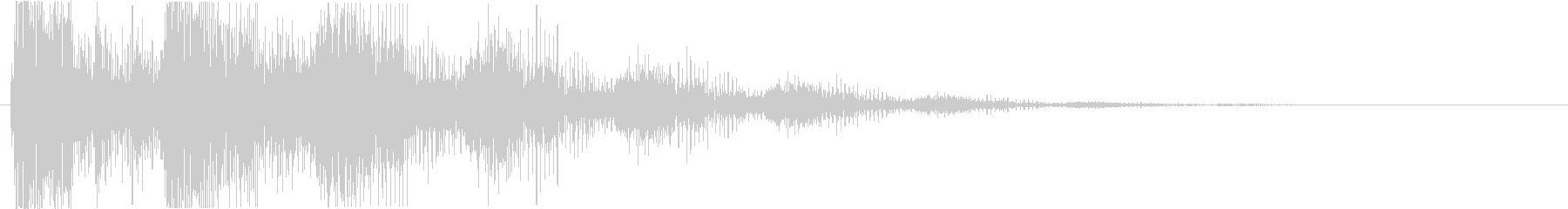 プッ:ラッパの音・失敗・バカにするbの未再生の波形