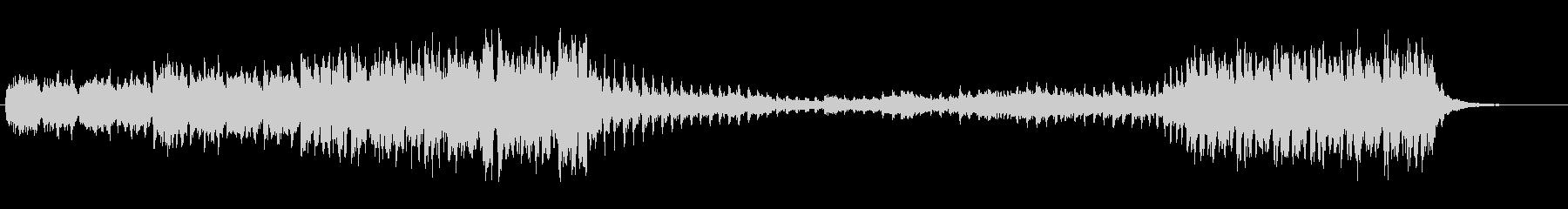 ・軽快なダンスミュージックです・シュー…の未再生の波形