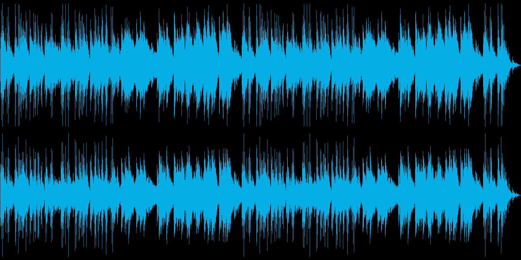 しんみりと温かいBGM:編集版の再生済みの波形
