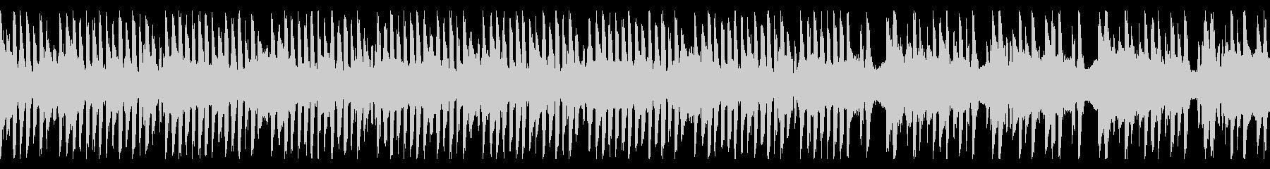 コミカルでボケ担当なループBGMの未再生の波形