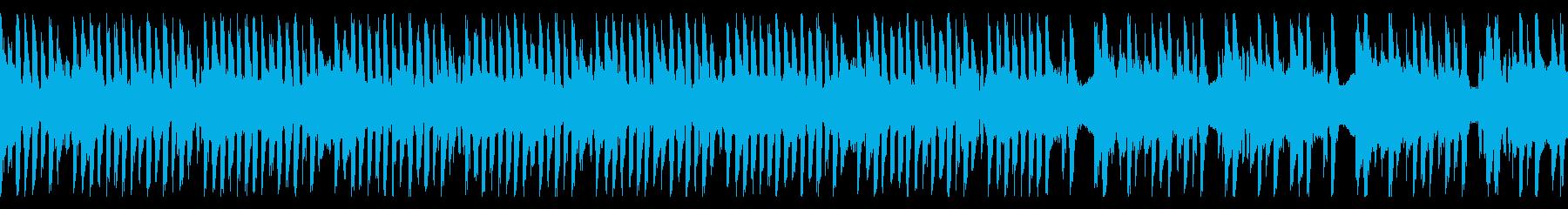 コミカルでボケ担当なループBGMの再生済みの波形