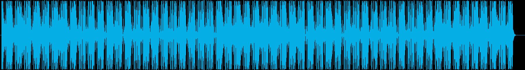 爽やかで疾走感のあるアフロビートレゲエの再生済みの波形