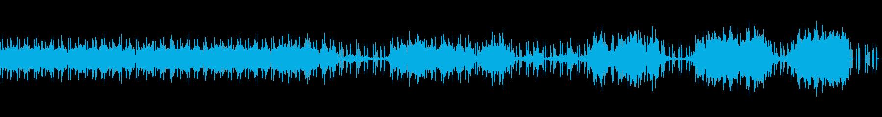 Vlog!ミニマルクールBGMの再生済みの波形
