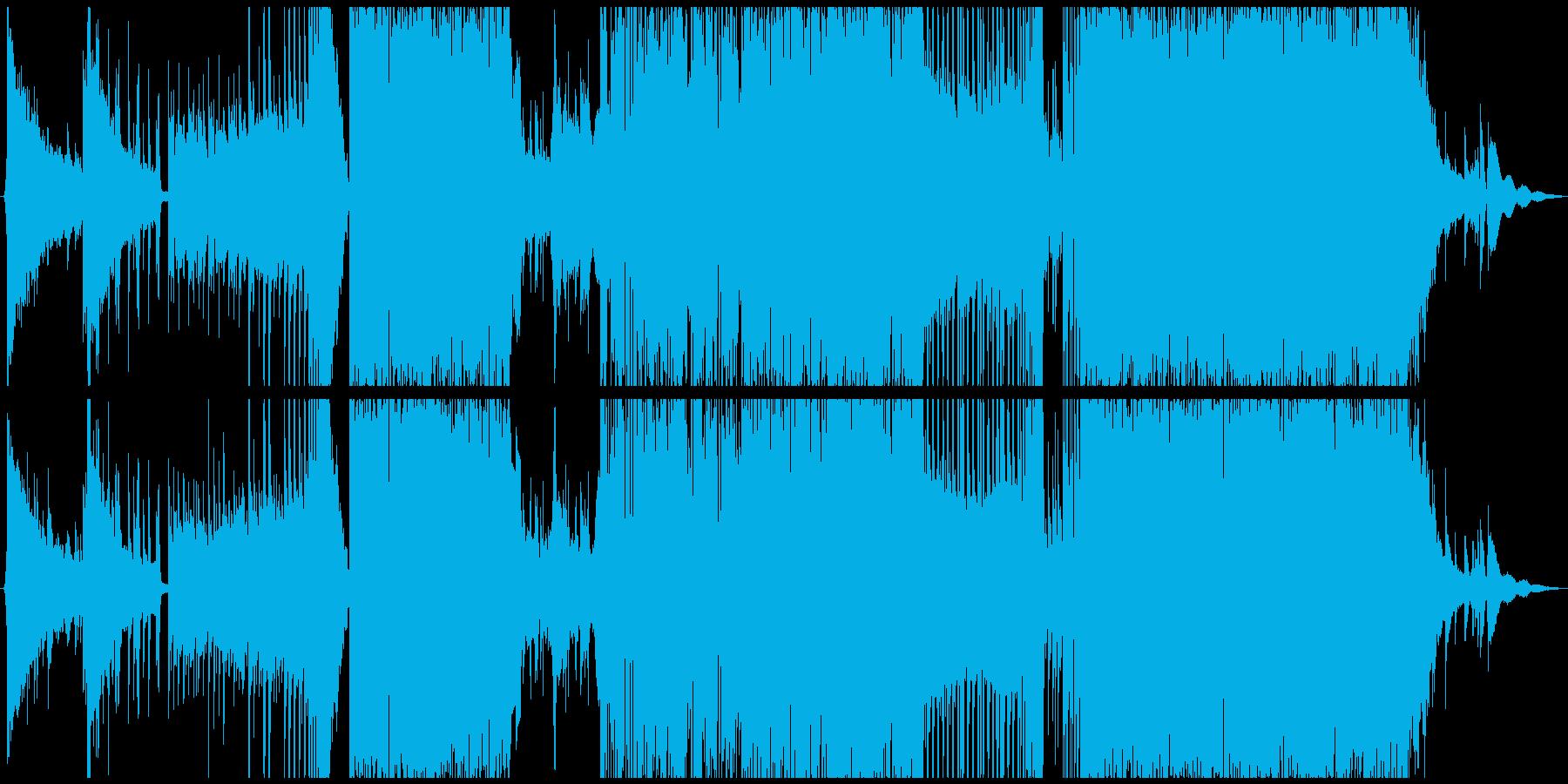 儚さのあるハイブリッドダブステップの再生済みの波形