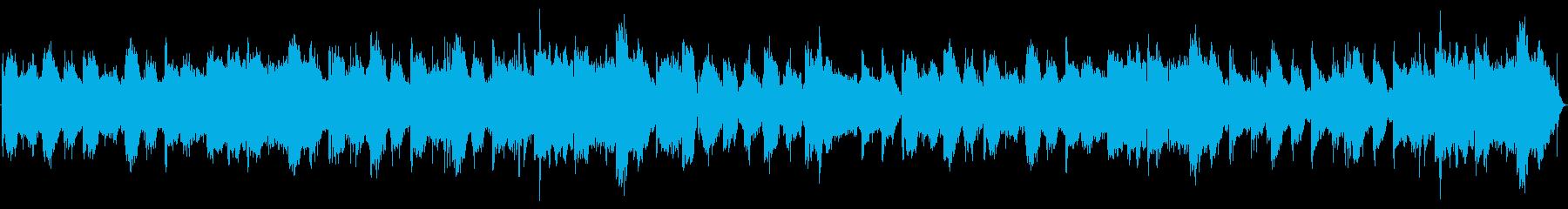 昔懐かしい雰囲気の笛を使った回想シーンの再生済みの波形
