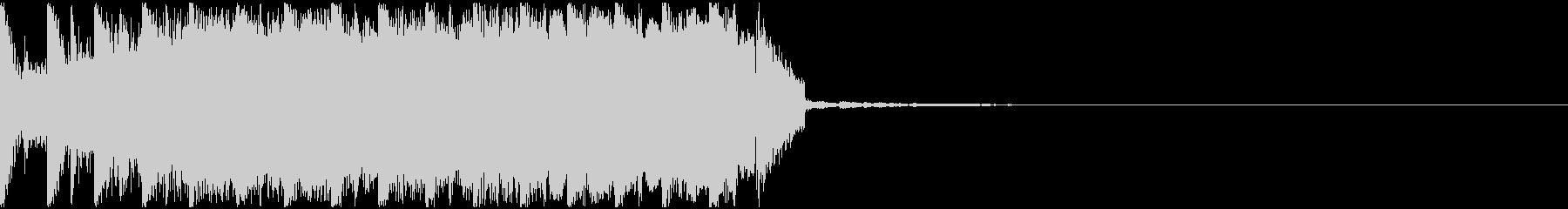 【EDM】約15秒、ジングル1の未再生の波形