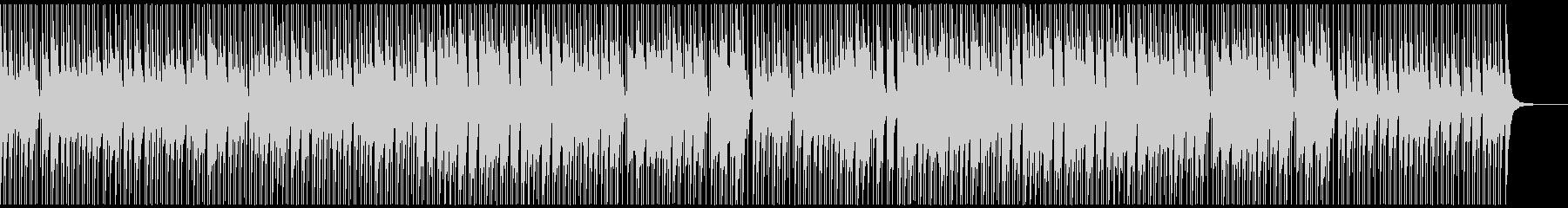 ノリ良い音頭の和風曲/ゲーム映像/M17の未再生の波形