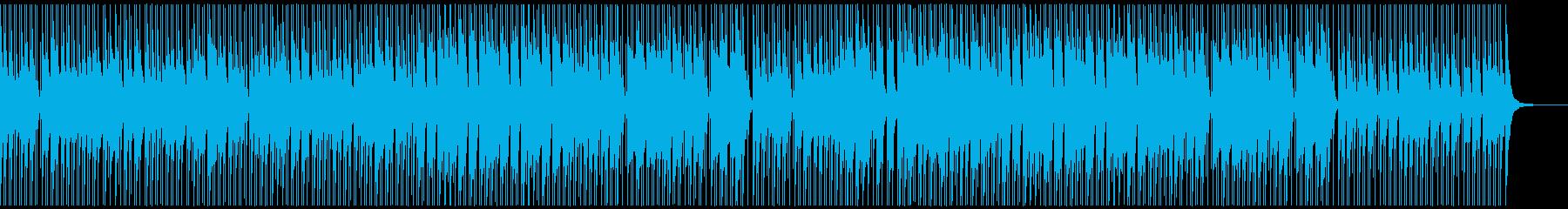 ノリ良い音頭の和風曲/ゲーム映像/M17の再生済みの波形