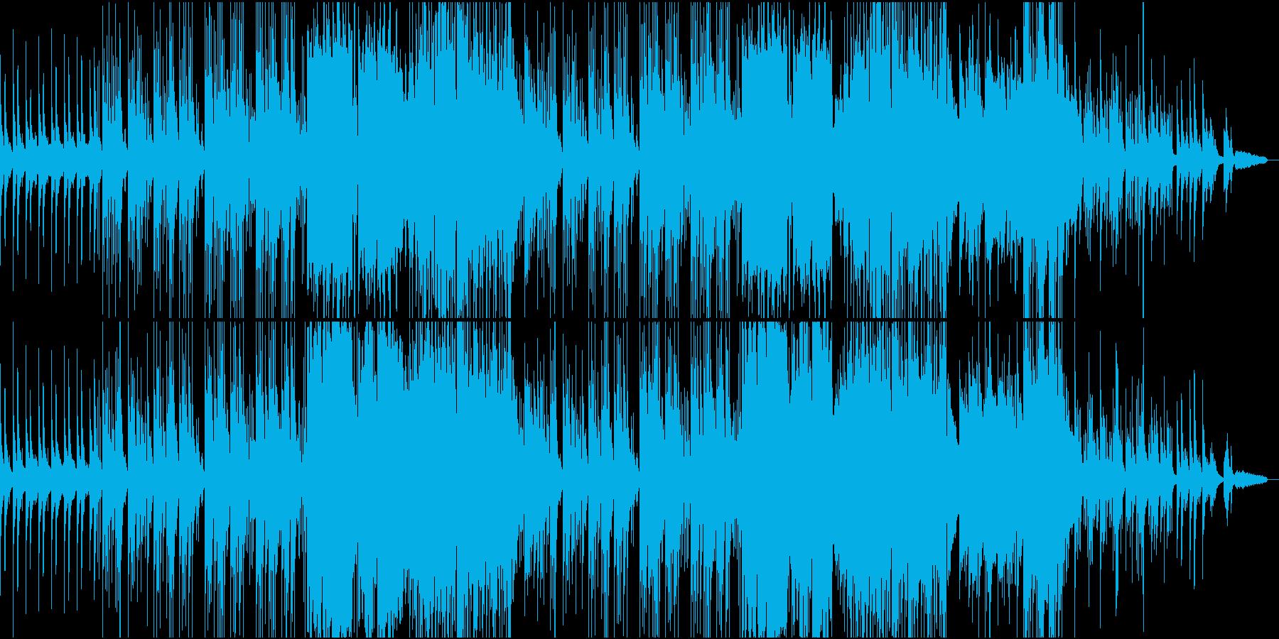 とても懐かしい、おしゃれな和風ポップスの再生済みの波形
