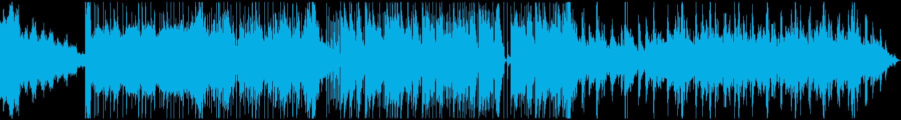 エネルギッシュな気合の入った楽曲です。の再生済みの波形