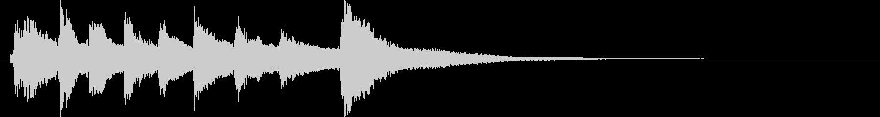 和風ジングル雅 琴のみ  7_14の未再生の波形