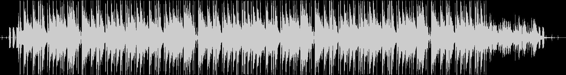 メランコリックなローファイ・チルの未再生の波形