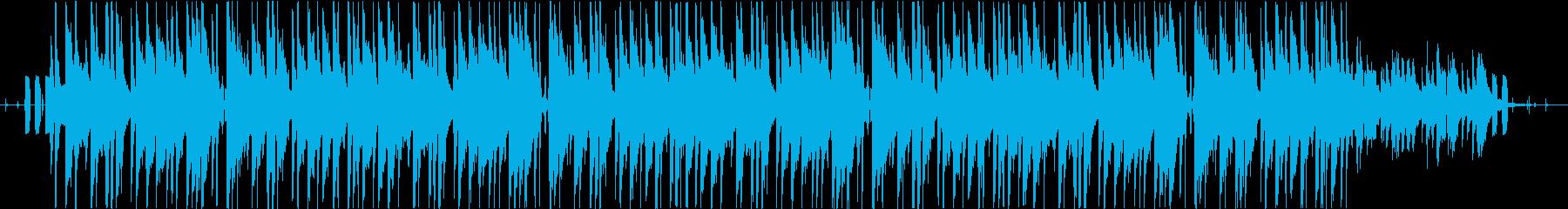 メランコリックなローファイ・チルの再生済みの波形