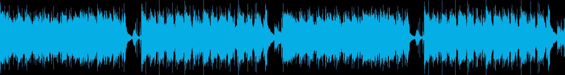 きらきら輝く 優しい雰囲気の楽曲 ループの再生済みの波形