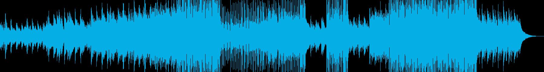 幻想的な夜明け・後半テクノポップの再生済みの波形