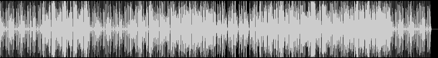幻想的 チルアウト 電子音 シンセの未再生の波形