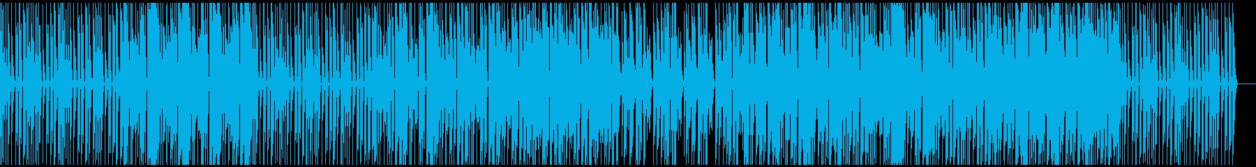 幻想的 チルアウト 電子音 シンセの再生済みの波形