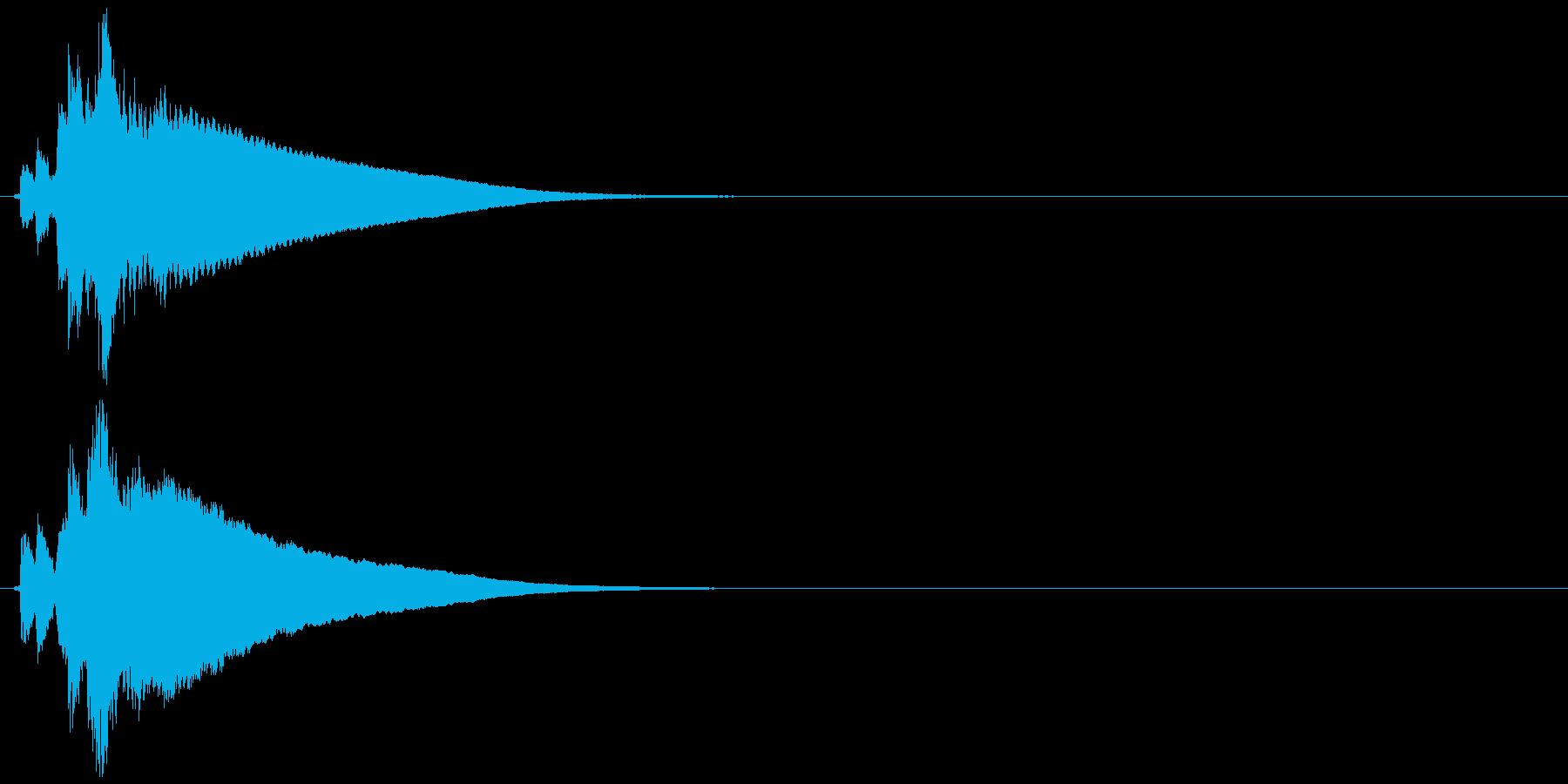 自転車のベル (チリーン)の再生済みの波形