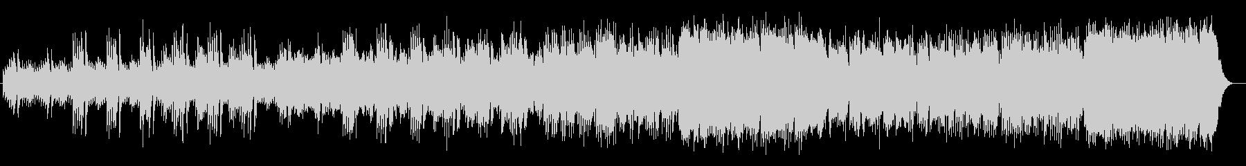 透き通るようなシンセ・金属楽器系サウンドの未再生の波形