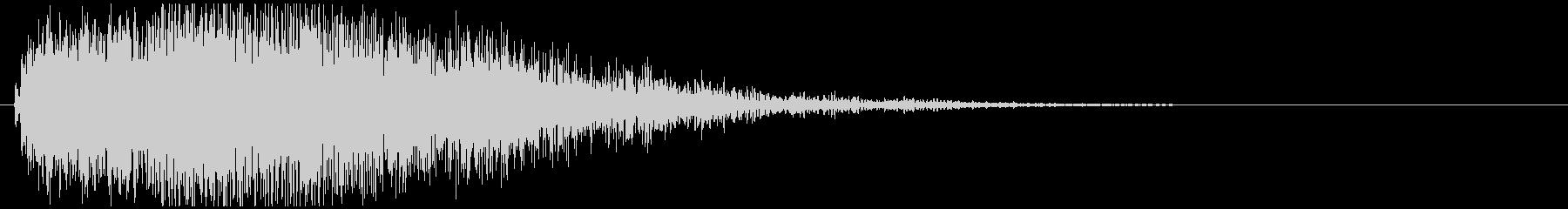 オケヒット結果発表の未再生の波形