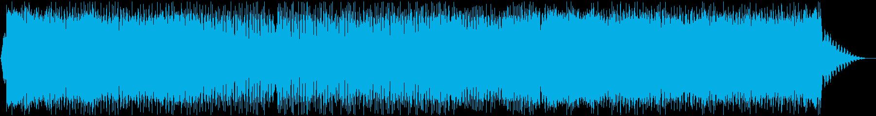 可愛らしいダンスポップ3 声無しの再生済みの波形