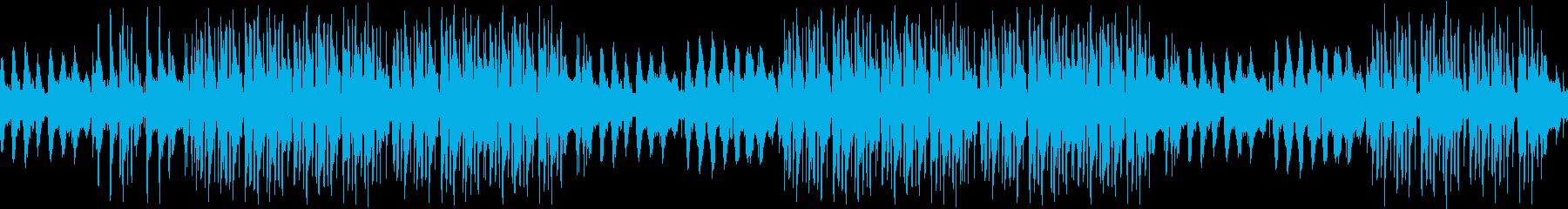 ギター・葛藤・不安・動揺・夜・ループの再生済みの波形