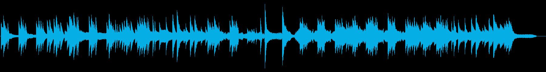 切なく儚いピアノBGM 感動シーンの再生済みの波形