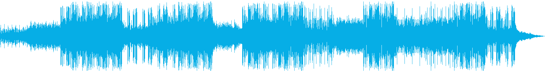 寂しく妖しげなCHILL系HIPHOPの再生済みの波形