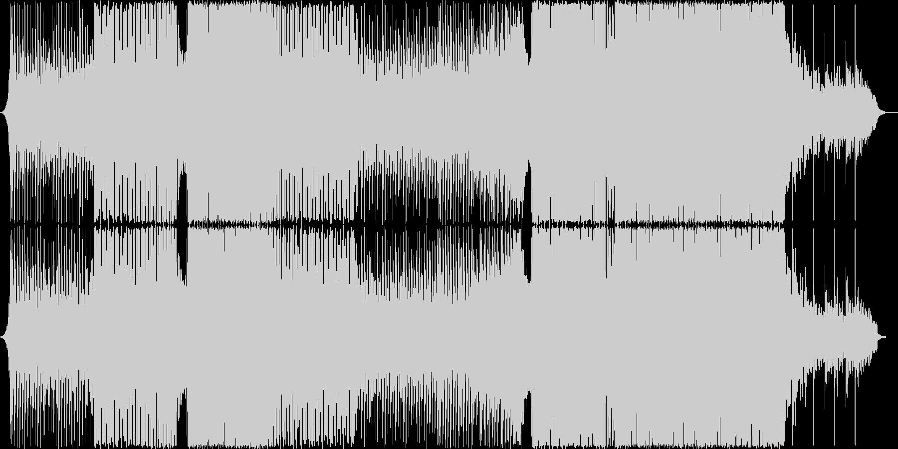 ポップで透明感のあるピアノEDMの未再生の波形