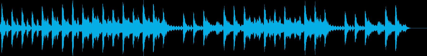 ストリングス 緊張感のある決意等の場面にの再生済みの波形