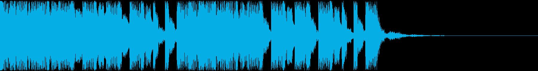 【EDM】トランス、ロング8、ショート1の再生済みの波形
