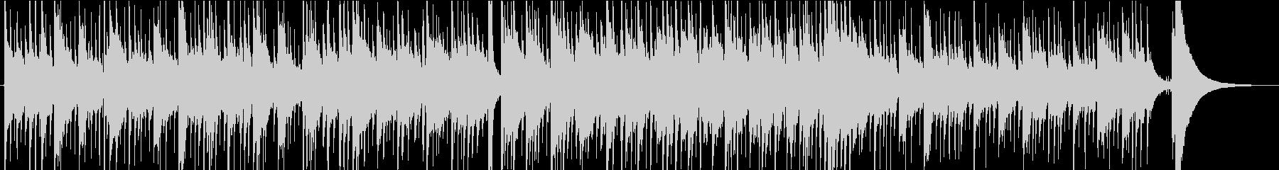 ピアノとギターの切ないノスタルジーBGMの未再生の波形