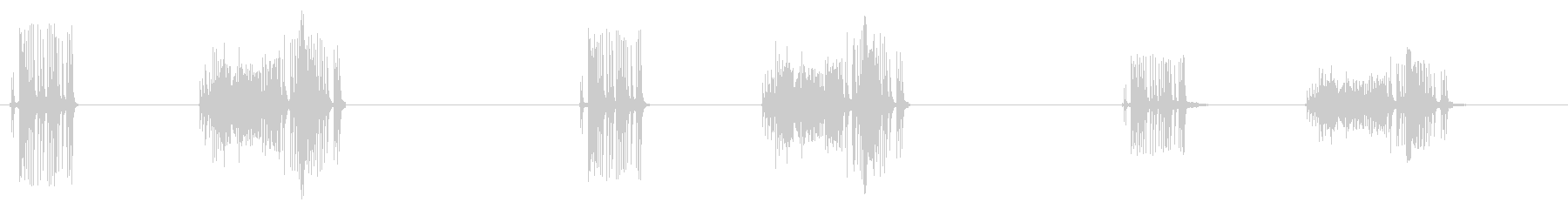 スプリングテンション-スクレーパー...の未再生の波形