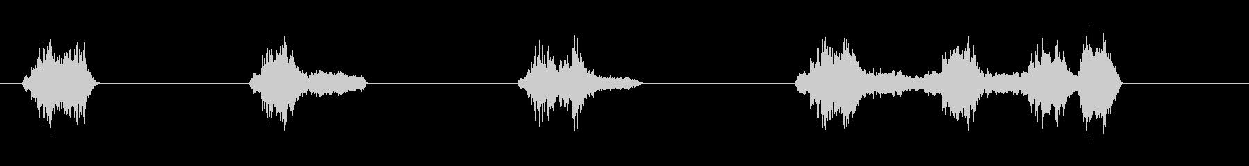 サーボ2の未再生の波形