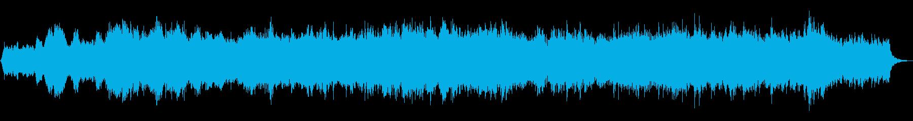 悲壮感漂うストリングスの小曲の再生済みの波形