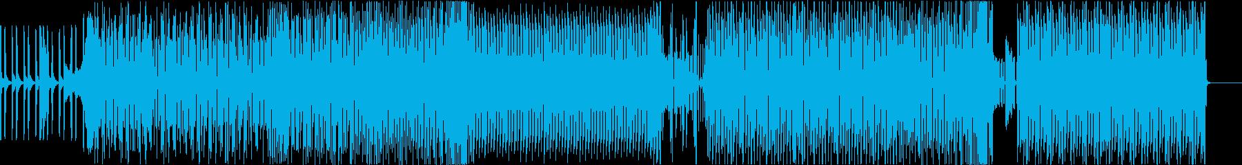 ショップで流れてそうなBassHouseの再生済みの波形