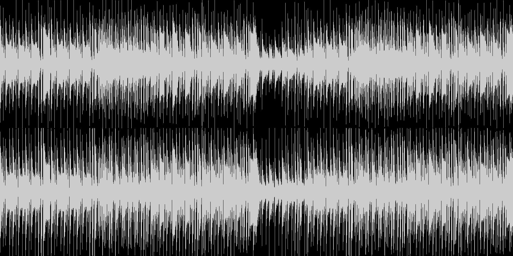 個性あるわくわくポップな曲です!ループ可の未再生の波形