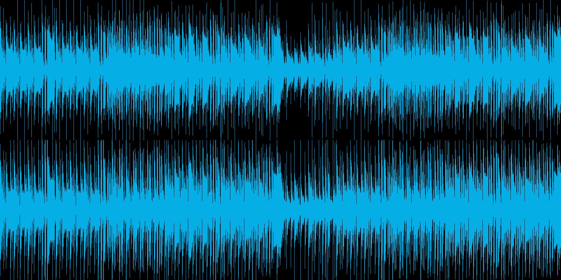個性あるわくわくポップな曲です!ループ可の再生済みの波形