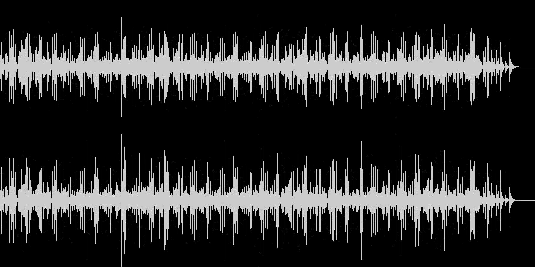 ジングルベルのオルゴール版 4分弱の未再生の波形