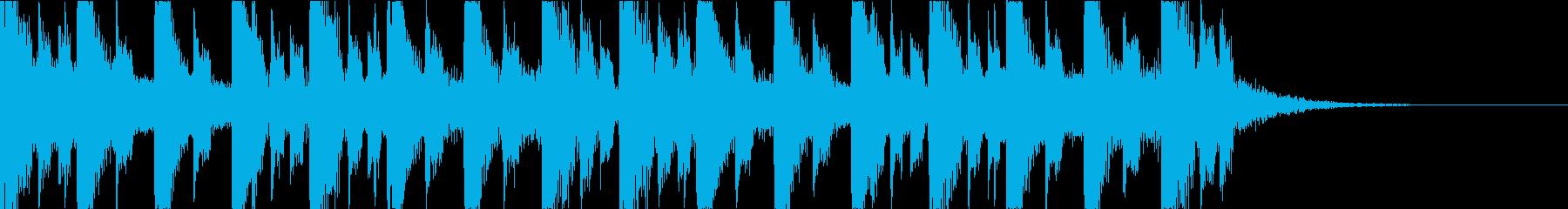 キャッチーで深みのあるEDM4の再生済みの波形